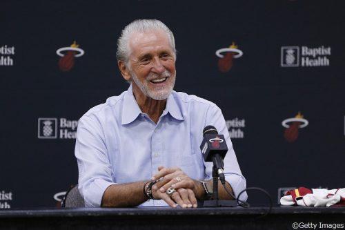 ヒート球団社長のパット・ライリー「新たなチャンピオンチームを作り上げたい」