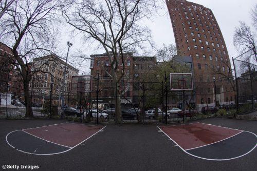 ニューヨークの屋外コートがすべて封鎖、全体の51%ではリングも撤去済み