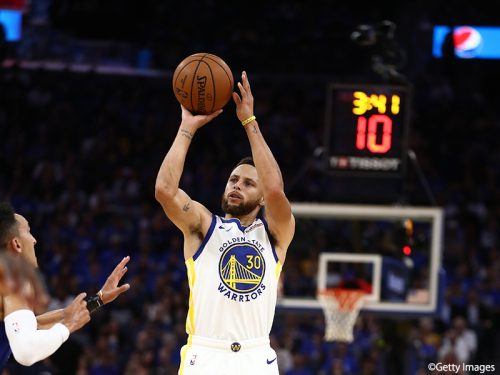 NBAの一流選手たちのシューティングを科学して判明したカリーの凄さ