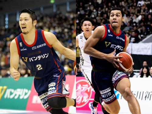 横浜ビー・コルセアーズ、橋本尚明とホール百音アレックスの契約満了を発表