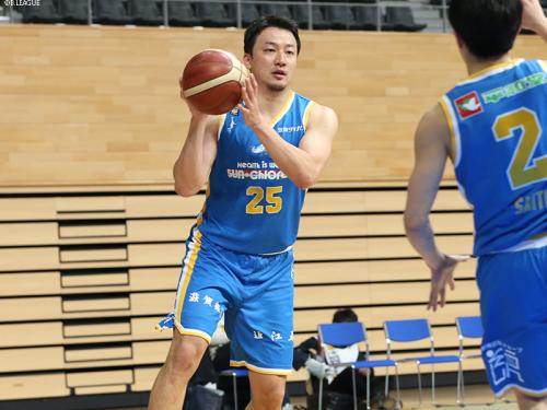 滋賀レイクスターズ、荒尾岳の契約満了を発表…今季は27試合に出場
