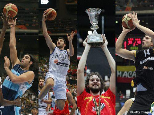 歴史に残る日本開催の2006年世界選手権。スペイン、ギリシャ、アルゼンチン、ドイツの激闘を見よ!<前編>