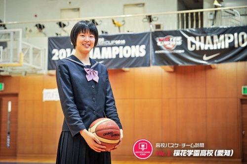 【高校チーム訪問】卒業生Interview/桜花学園のエース・平下愛佳が3年間を振り返る