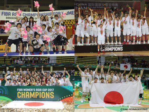 43年ぶりの優勝に五輪出場、豪中韓を倒したアジア4連覇の軌跡【FIBA CLASSIC GAMES日本女子編】
