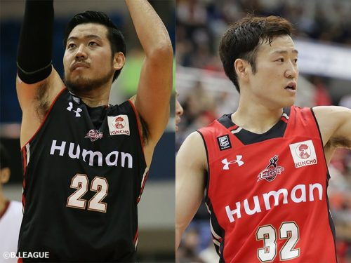 大阪エヴェッサ、小阪彰久と畠山俊樹との契約満了を発表