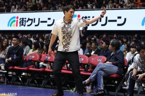 琉球、藤田弘輝HCの続投を発表「『沖縄をもっと元気に!』できるよう努めてまいります」