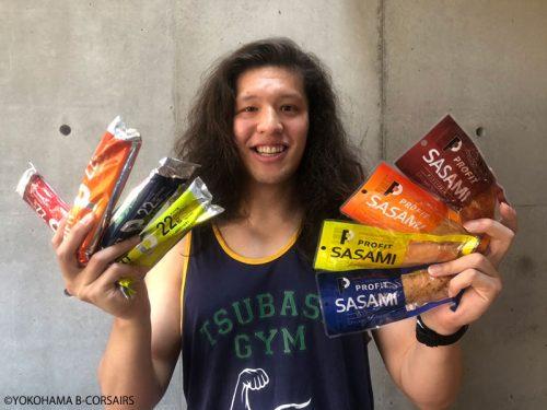 横浜ビー・コルセアーズの小原翼が中・高校生にアドバイス「効率的な食事のとり方と自宅でできるトレーニング」