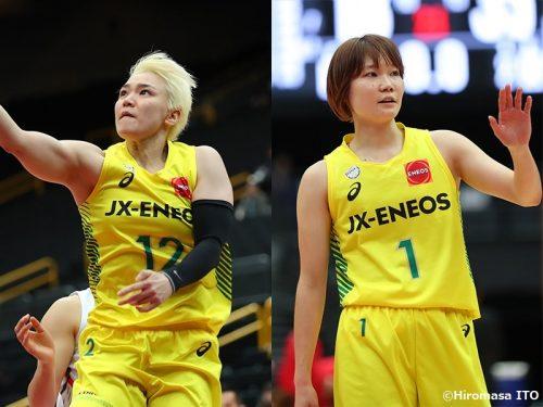 JX-ENEOSの吉田亜沙美と藤岡麻菜美が退団。藤岡は現役を引退し、指導者の道へ