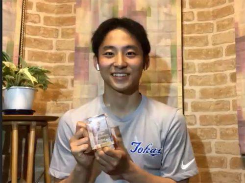 新人賞ベストファイブ受賞の河村勇輝が「これからはフィジカル強化に加え、ゲームコントロール力、バスケIQを磨きたい」