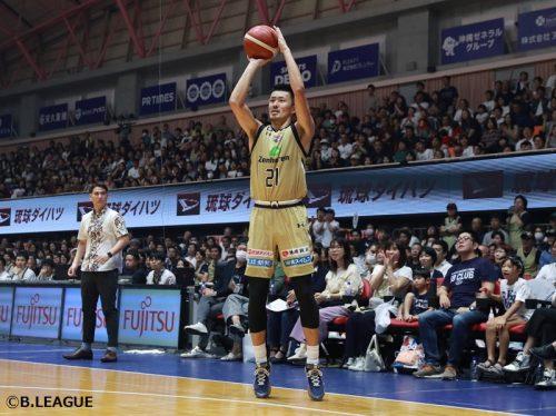 琉球ゴールデンキングス、寒竹隼人と契約継続…在籍3シーズン目に突入