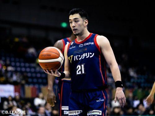横浜ビー・コルセアーズ、MIPに選出された田渡凌との契約を満了