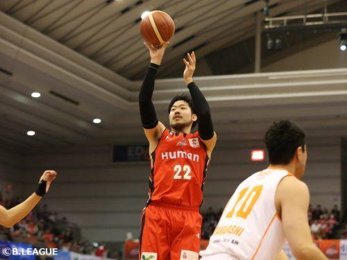 小阪彰久が島根スサノオマジックに復帰…今季は大阪エヴェッサで24試合に出場