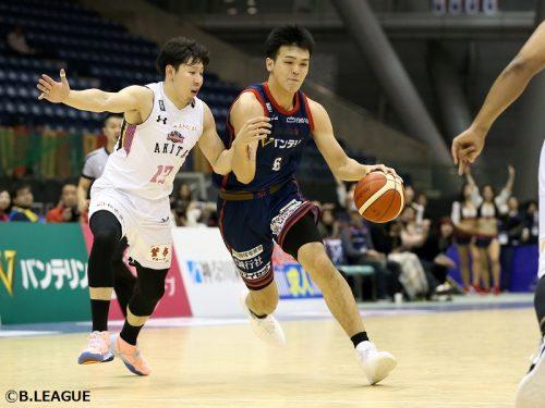 青山学院大学の赤穂雷太、特別指定選手として千葉ジェッツに加入