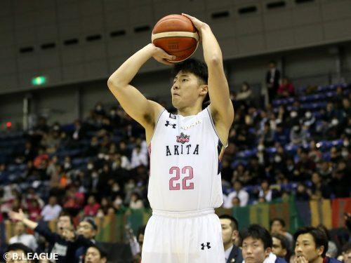 秋田ノーザンハピネッツが多田武史と契約合意「成長した姿を見せられるように頑張ります」