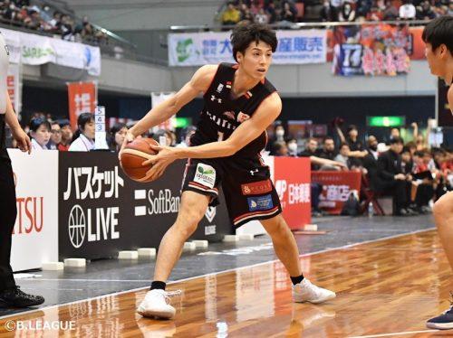 大阪エヴェッサ、橋本拓哉と契約合意…今季は10.5得点を記録