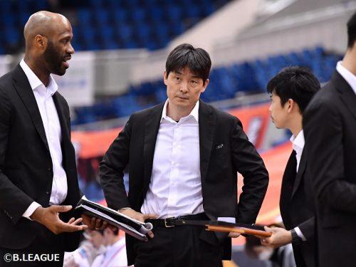 大阪エヴェッサが天日謙作HCの続投を発表「カンファレンス優勝とチャンピオンシップ出場を目標に」