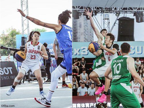 """With Basketball~バスケで日本を元気に~""劇的勝利でわく男女3x3代表の好ゲームをピックアップ"