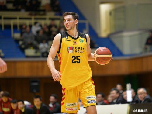 新潟アルビレックスBBがロスコ・アレンを獲得…今季は39試合に出場