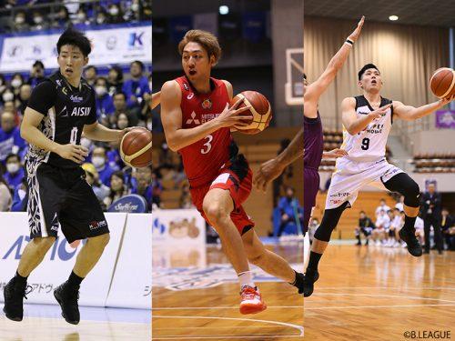 満田丈太郎、會田圭佑、細川一輝の3選手が京都ハンナリーズと契約合意