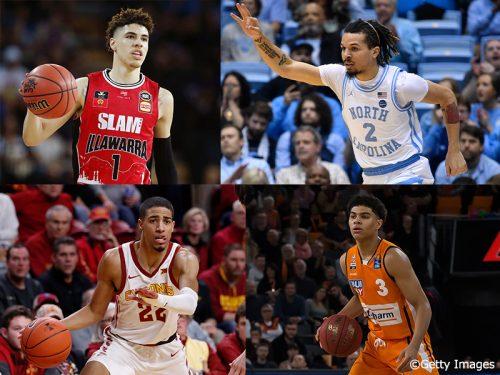 NBAドラフト2020で上位指名が確実視されているポイントガード4選手
