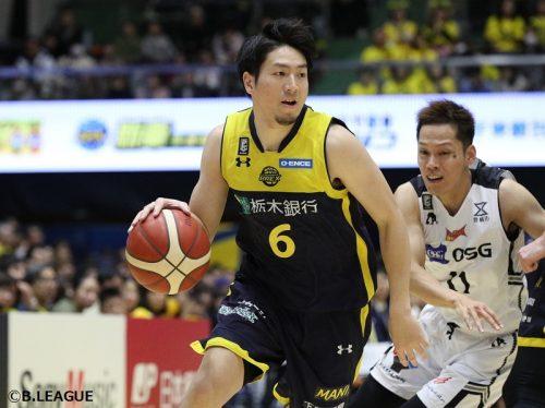 日本代表の比江島慎が宇都宮ブレックスと契約継続「来季こそは、最高の喜びを」