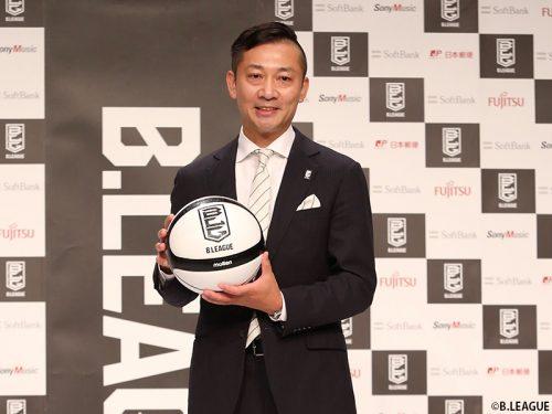 Bリーグ次期チェアマンの島田慎二氏が記者会見…「大変だからこそ、受けた方がいいと思った」