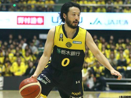 宇都宮ブレックスが田臥勇太と契約継続「チーム、ファンと力を合わせて戦いたい」