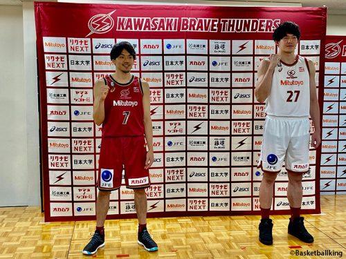 """""""川崎から世界へ""""。心強いパートナーを得た川崎ブレイブサンダースが新ユニフォーム、スポンサーを発表"""