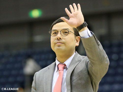 秋田ノーザンハピネッツ、前田顕蔵HCが続投「覚悟を持って挑戦します」