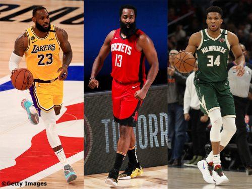 NBA 2019-20シーズンの主要6アワード最終候補が決定…MVP候補はレブロン、ハーデン、アデトクンボの3人