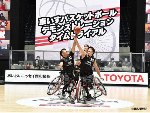 史上初!バスケファミリーの一員として車いすバスケ男子日本代表候補4人が参加「BASKETBALL ACTION 2020 SHOWCASE」