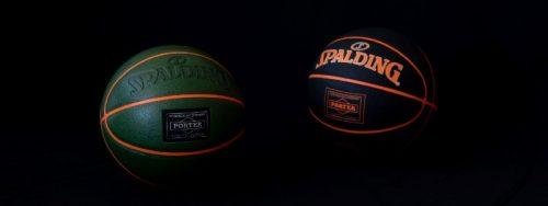 SPALDINGとPORTERのコラボレーションボールに新色「オリーブ」が登場、8月8日より販売開始