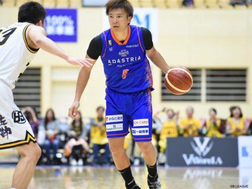3x3日本代表候補に選出された茨城ロボッツの小林大祐「日本にメダルをもたらすためにプレーします」