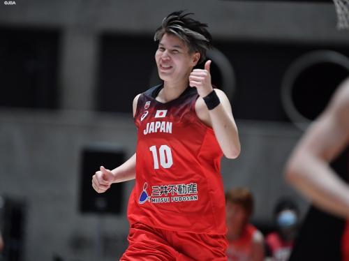 女子日本代表の渡嘉敷来夢、1ヶ月後に控えるリーグ戦に向けて「いつでも120パーセントでバスケットができる状態」