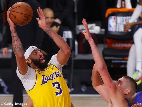 【NBAプレーオフ28日目】レブロンとADがダブルダブル…レイカーズがナゲッツとのカンファレンスファイナル初戦を制す