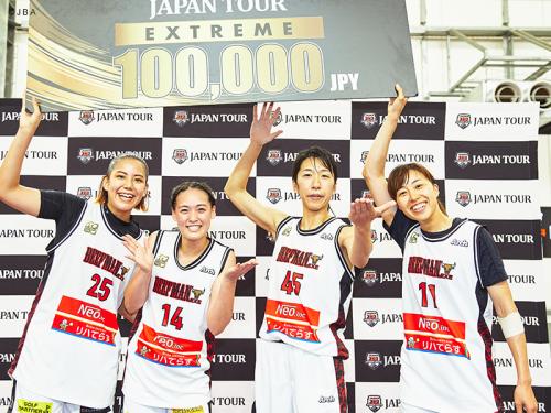 『3x3 JAPAN TOUR 2020 Extreme Limited』のRound1・2が開催、女子はBEEFMANが2ラウンド連続で制す