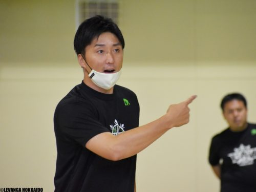 【 #B飛躍の5年目へ 】レバンガ北海道・宮永雄太HC「絶対にあきらめず、ハードワークするチームに」