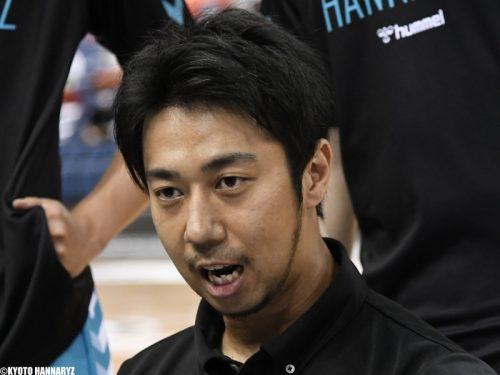 【 #B飛躍の5年目へ】京都ハンナリーズ・小川伸也ヘッドコーチ「大事なのはお互いを尊重することと当事者意識を持つこと」