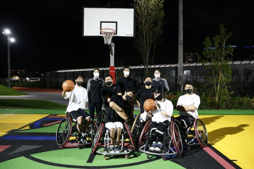TOKYO SPORT PLAYGROUND SPORT×ARTでオープニングイベントが開催…3×3専用コートで3試合が実施