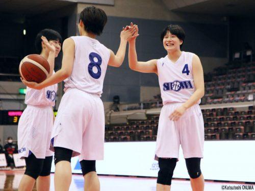 昭和学院が千葉県予選優勝、敗れた英和も6年ぶりのウインターカップへ