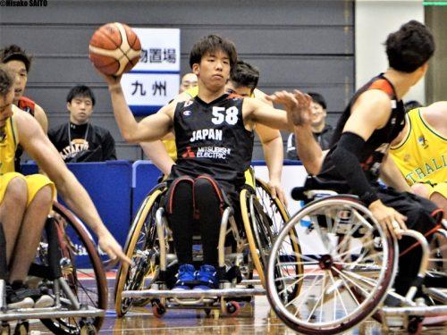 【車いすバスケリレーインタビュー 男子Vol.10】宮本涼平「目指すは車いすバスケ界のエンターテイナー」
