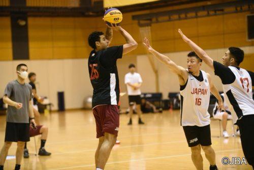 3x3男子日本代表が取材対応…広島のマーフィーが「3x3で東京五輪目指す」と明言
