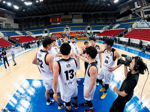 2020年度男子日本代表第1次強化合宿参加メンバー発表。なおFIBAアジアカップ2021予選<WINDOW2>は延期決定