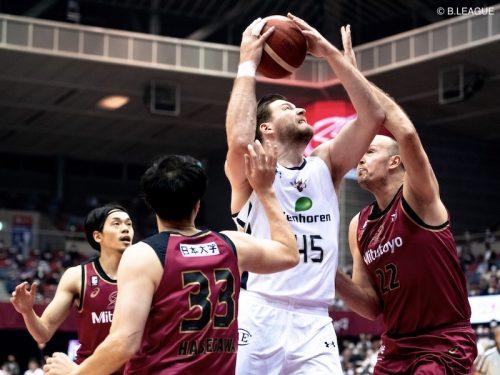 琉球が川崎に逆転勝利で10連勝達成…クーリーの23得点を筆頭に6選手が二桁得点をマーク