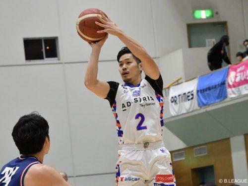茨城ロボッツの福澤晃平がBリーグ史上初となる3ポイントシュート個人通算500本を達成!