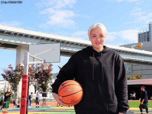 吉田亜沙美から子どもたちへメッセージ。「活動が再開した今、バスケを楽しんで、目標を持ってほしい」
