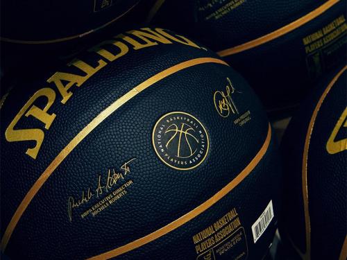 "SPALDINGが全米バスケットボール選手協会""NBPA""とのコラボレーションボールを発売"