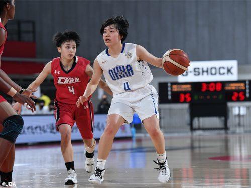 桜花学園が28度目の決勝へ…高知中央を相手に主将・江村優有が31得点/ウインターカップ女子準決勝