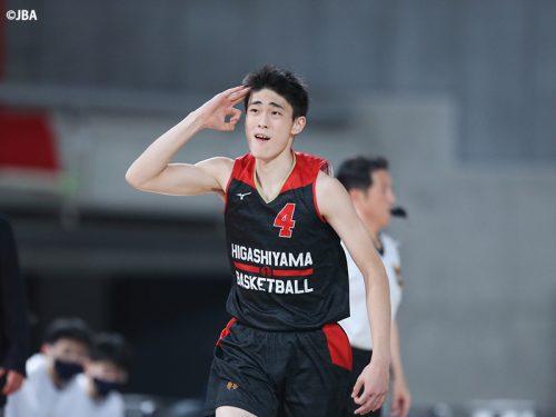 東山が京都府予選のリベンジ、洛南に20点差の快勝/ウインターカップ男子準決勝