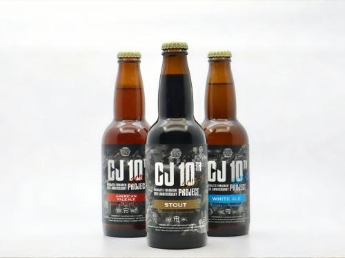 """千葉ジェッツ、船橋ビール醸造所とコラボした""""10周年メモリアルラベルビール""""の販売をスタート"""